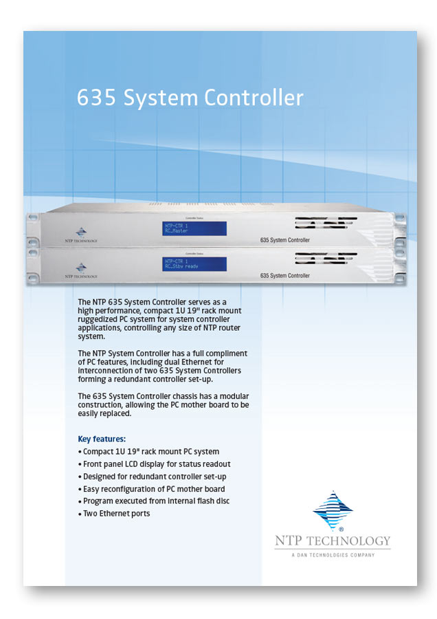 635 System Controller PDF