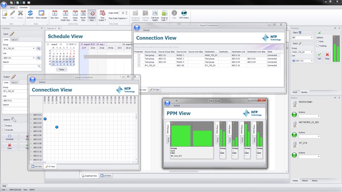 VMC Routing Control Software