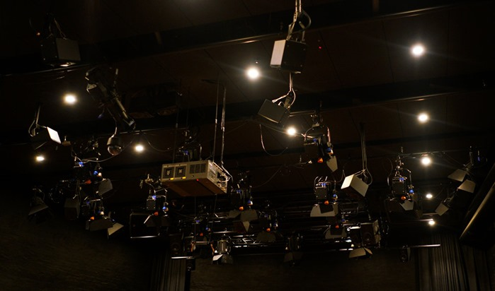 Ambisonics system in the immersive hall