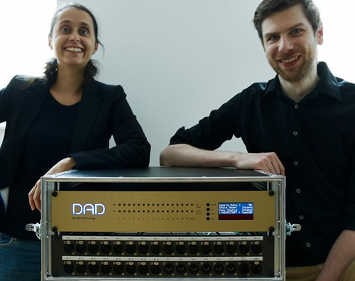 na Nikolow and Benedikt David, partners and co-founders of Headstart Records in Vienna