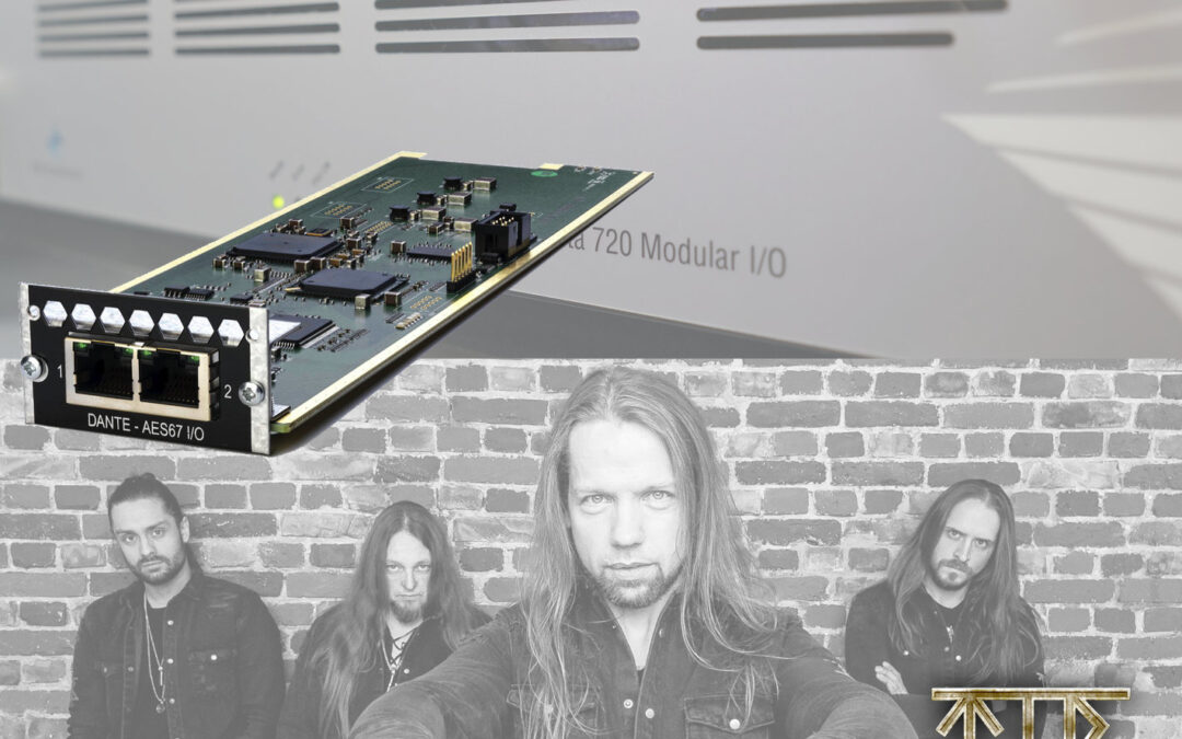 Penta 720 with Dante Card Meets Faroese Folk Metal