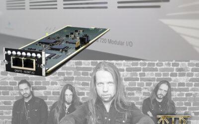 Penta 720 with Dante Card Meets Faroese Folk Metal