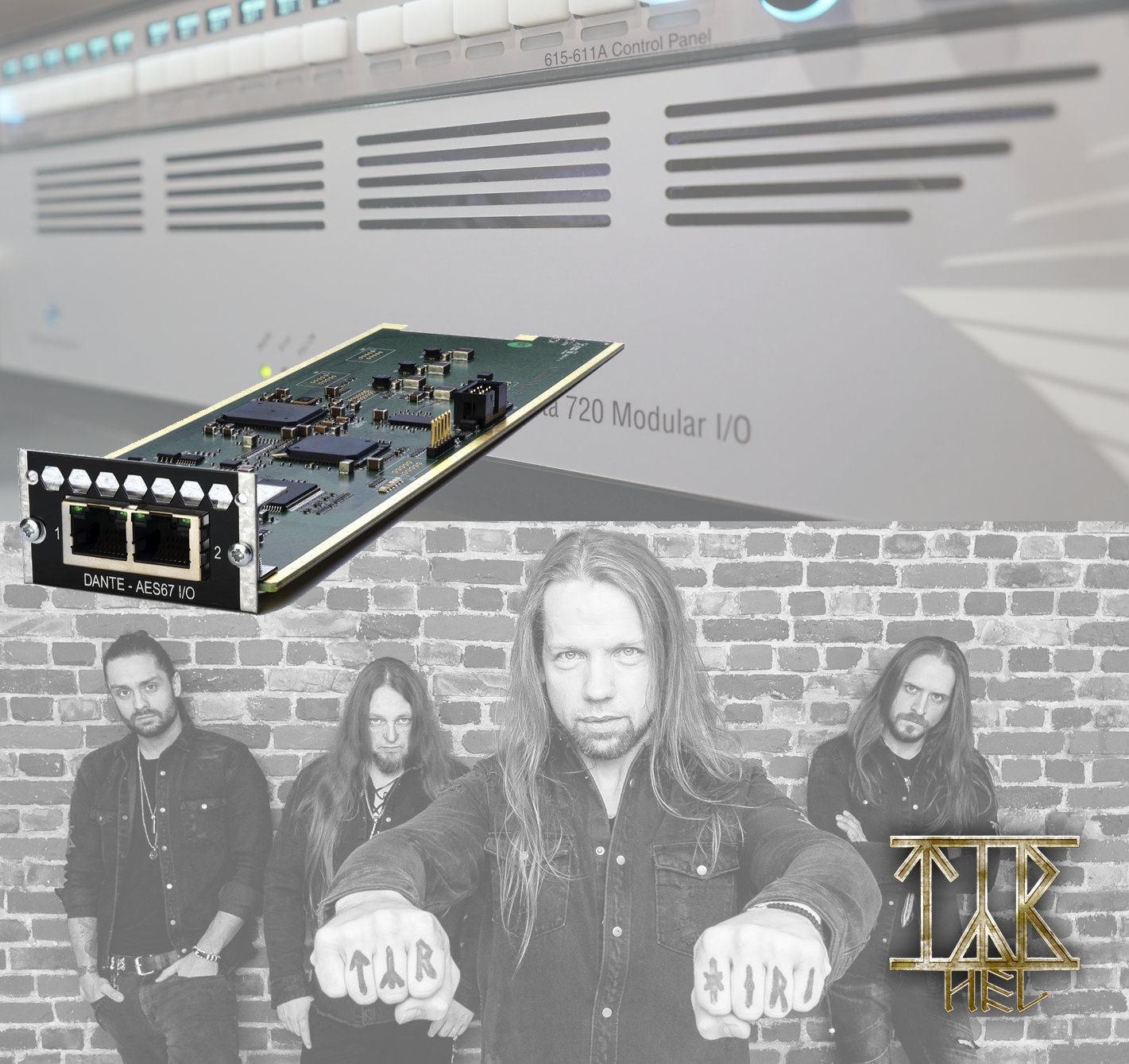 Penta 720 with Dante Card Expansion Meets Faroese Folk Metal
